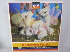 RoseArt Kodacolor 1000 Piece Jigsaw Puzzle Fairy Bears 1991 SEALED