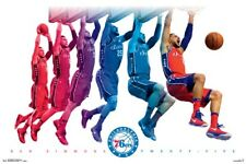 NBA - Ben Simmons Jump Poster 57x86cm Basketball Dunk Philadelphia 76ers 25