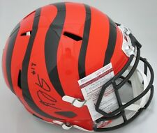 Bengals AJ GREEN Signed Full Size Replica SPEED Helmet AUTO - Pro Bowler - JSA