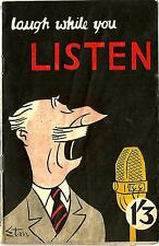 Laugh while you Listen - Jokes and cartoons about Broadcasting