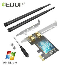 EDUP AC300Mbps PCI-E WiFi Card for PC Desktop 802.11n Wireless Network Adapter