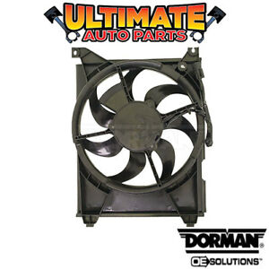 A/C Condenser Cooling Fan (3.0L or 3.5L) for 01-03 Hyundai XG300 or XG350