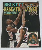 BECKETT BASKETBALL CARD MAGAZINE May 1990 Issue #2 DAVID ROBINSON Cover Spurs