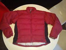 Sierra Designs Women's Puffer Goose Down Jacket Size Medium Excellent