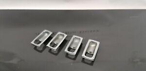 Mercedes W114 W115 W123 COUPE INSIDE DOOR LOCK HANDLE SURROUND  CHROME