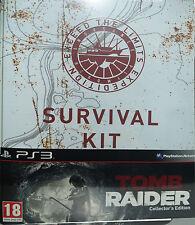 Tomb Raider, Collectors Edition inkl. Lara Croft Figur, PS3, NEU & OVP