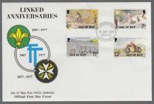 Motorcycles Decimal Manx Regional Stamp Issues