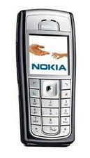 Nokia 6230b 2G GSM Mobile Bar Style Cell Phone Unlocked Silver/Black w/ Battiery