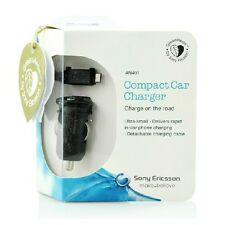 Compact Car Charger Original Sony Ericsson AN401 for Sony Xperia Z3 L36h Z4 Z5