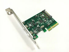 PCI-E X4 to Dual USB Type-C adapter card & Sata power cable for Mac Pro OSX10.9