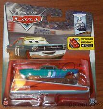 Mario Andretti signed MATTEL Disney Pixar Cars '67 Ford 1/64 Diecast Car