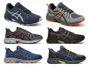 ASICS Men's Trail Running Sneakers, 6 Colors, Medium D & Wide 4E Widths