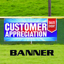 Customer Appreciation Sales Event Advertising Banner Sign