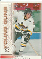 Jonas Andersson 2000-01 Upper Deck Young Guns Rookie Card #202