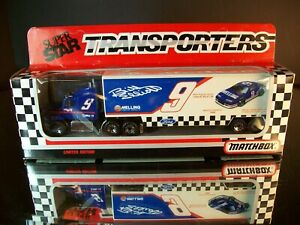 Bill Elliott #9 Generic Coors Light 1991 1:87 Racing Team Transporter Matchbox
