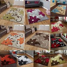 Polypropylene Floral Contemporary Rug & Carpet Runners