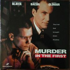 Murder In The First - Widescreen    Laserdisc Buy 6 for free shipping