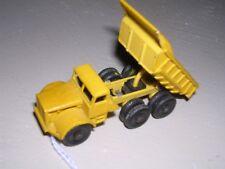 Matchbox #6c  Euclid Quarry Dump Truck 1964 - Yellow