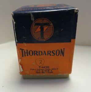 2 Thordarson Transformers T-44C02 Philco Choke 4231-T NEW NOS