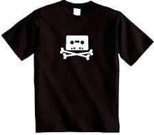 Pirate Bay T-shirt | Kopimi Piratebay Tape T-Shirt | hacker Cassette Tape tee