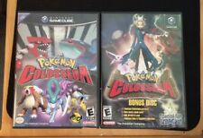 Pokemon Colosseum AND Jirachi Bonus Disc - Nintendo Gamecube - Cases and Discs