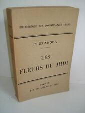 Les fleurs du midi - Paul Granger  1928