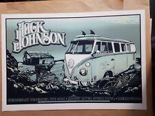 Jack Johnson Melbourne 2010 Concert Poster Art Pat Fox