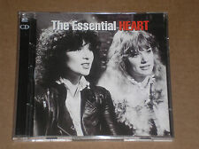 HEART - THE ESSENTIAL - 2 CD COME NUOVO (MINT)