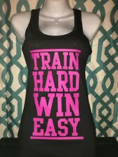 Fitness Workout Racerback Tank Shirt Gym Fitness Ladies Girl Squat Beast S M L X