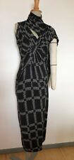 Peter Pilotto Printed Jersey Drape Front Dress  Size 10