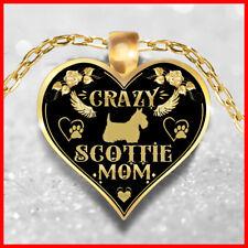 Scottie Lady Necklace, Scottish Terrier Jewelry, Scottie Pendant, Scottie Gift
