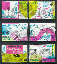 Netherlands 2001 Child Welfare set of 6 used *COMBINED SHIPPING*