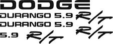 DODGE DURANGO 5.9 R/T decal Kit.  Any Color You Want  Free Shipping!
