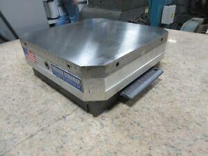 System 3R Dynafix Pallet w/ OS Walker Magnet Automation Tooling Robot Ceramax