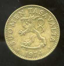 FINLANDE 50 pennia 1974