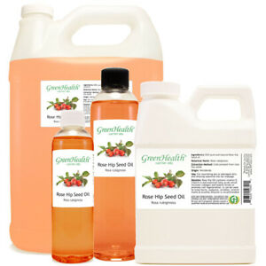 Rose Hip Carrier Oil (100% Pure/Natural) Virgin Unrefined FREE SHIPPING