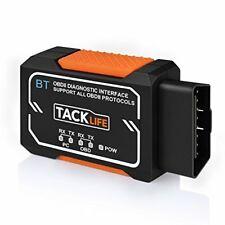 OBD2 Scanner,Tacklife Bluetooth OBD2 Diagnostic real-time scanning Tool,AOBD1B A