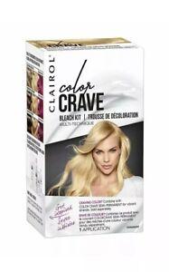 Clairol Color Crave Bleach Kit, Multi-Technique, Permanent, 1 Application