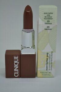 Clinique Even Better Pop Lip Colour Foundation BNIB 0.13oz./3.9g ~25 luscious~