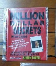 Simon Lovell's Million Dollar Secrets with Cards - Magic Makers DVD