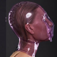 100% Latex Rubber Mask Masque Fashion Zipper Unique Maske Sizes XXS-XXL