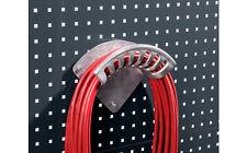 Equipement armoir atelier garage support en aluminium pour tuyaux et câbles BOTT