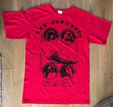 More details for led zeppelin red zoso rare t shirt medium new
