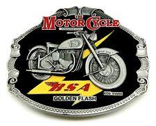 BSA Belt Buckle Golden Flash 650 Twin Classic Bike Motorcycle Authentic Licensed