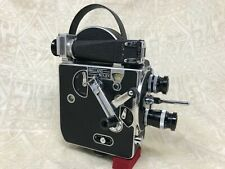 16mm Film Camera PAILLARD BOLEX H Kern Switzerland Wollensak Lens