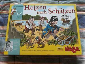 Hetzen nach Schatzen gioco da tavolo, Made in Germany Haba completo
