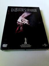 "DVD ""LA LISTA DE SCHINDLER"" PRECINTADO SEALED DIGIPACK STEVEN SPIELBERG LIAM NES"