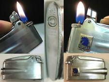 Briquet Ancien - RONSON Varaflame avec Insigne Indo? Lighter Feuerzeug Accendino
