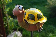 Gartenkugel Schildkröte Keramik Terrasse Handarbeit Terracotta Beet Deko