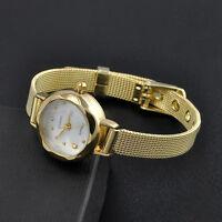 Fashion Women's Bracelet Lady Stainless Steel Crystal Dial Quartz Wrist Watch